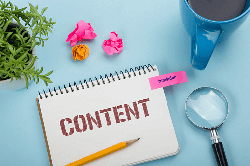 Create good content for your website