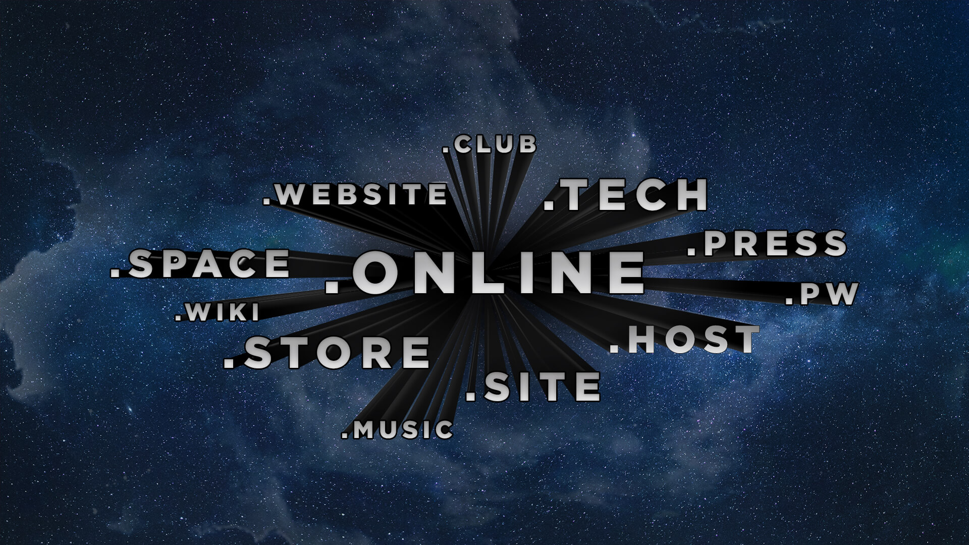 Choose the right domain extensions