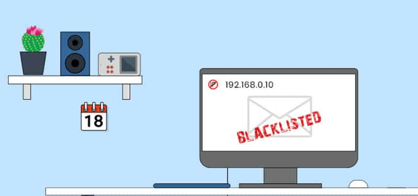 Beware of getting blacklisted