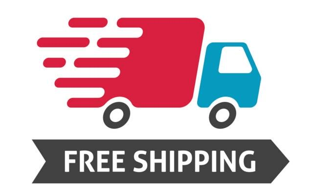 Consider free shipping to improve your conversion rate