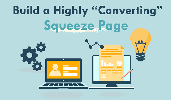 The objective of the squeeze page is to provide value or reward the user.