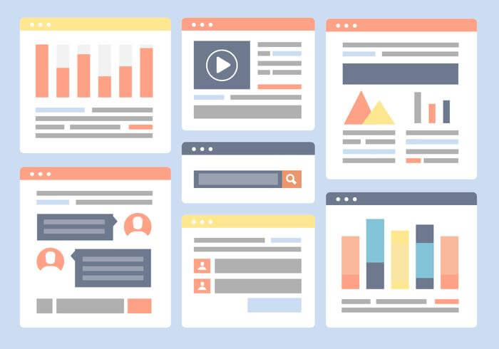 Create an attractive layout for your website