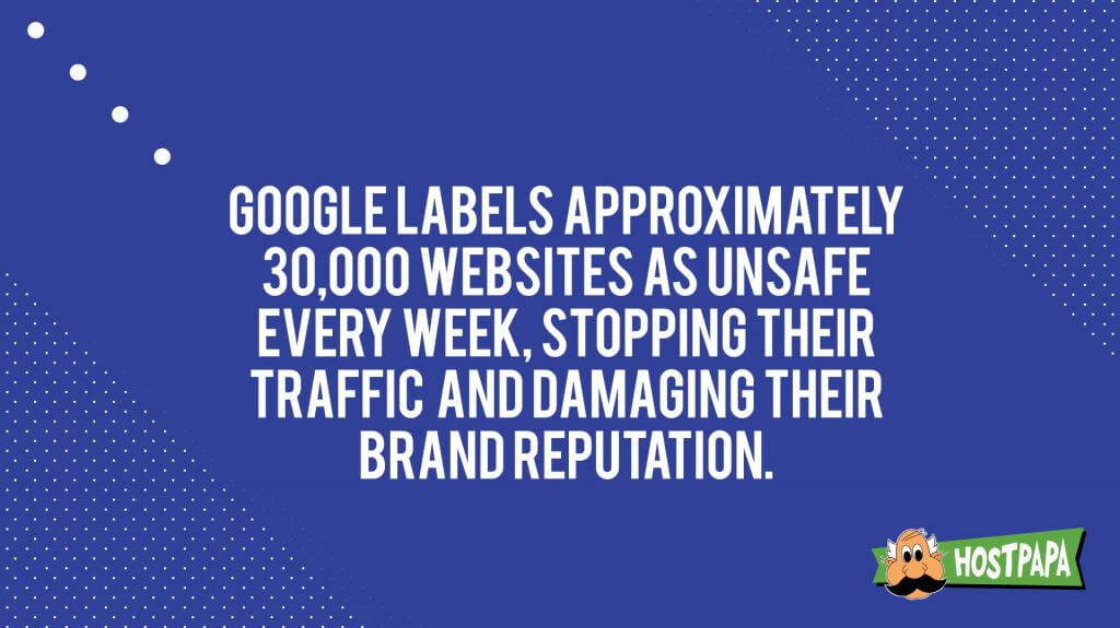 Google labels some websites as unsafe every week