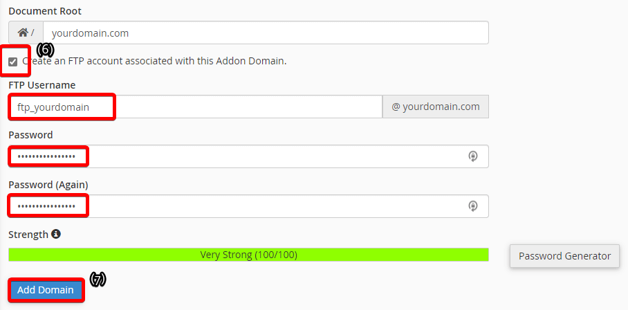 Tutorial: how to add an addon domain